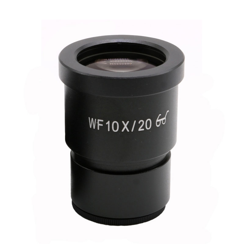 WF10X/20mm Eyepieces Wide Angle High Eye Point Mounting Size 30mm Microscope Eyepiece for Stereo Microsocpe JT0506.0565